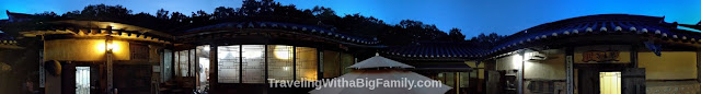 Traditional hanok home in South Korea