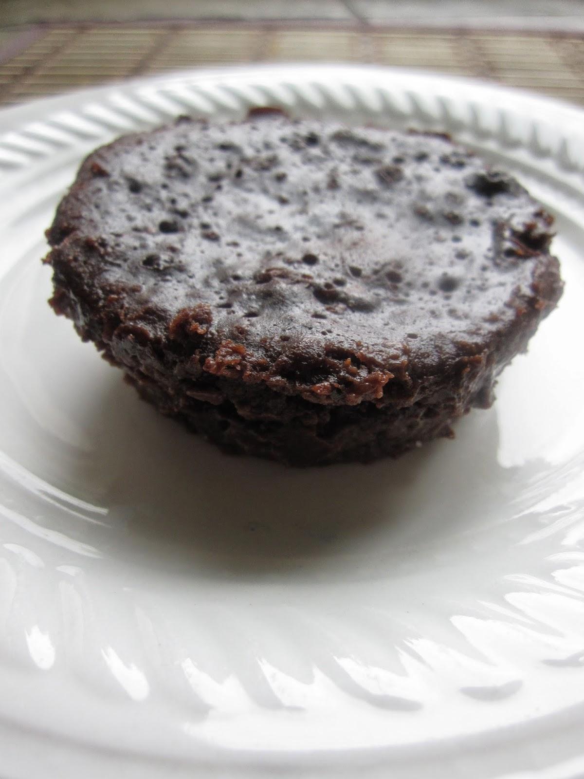 One Minute Chocolate Mug Cake A Taste Of Madness