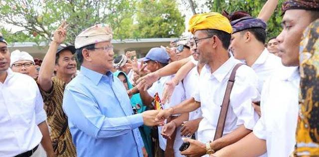 Di Bali, Prabowo Kembali Ingatkan Paradoks Ekonomi Indonesia