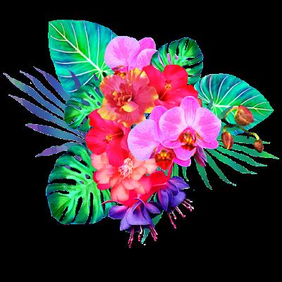jungle floral illustration