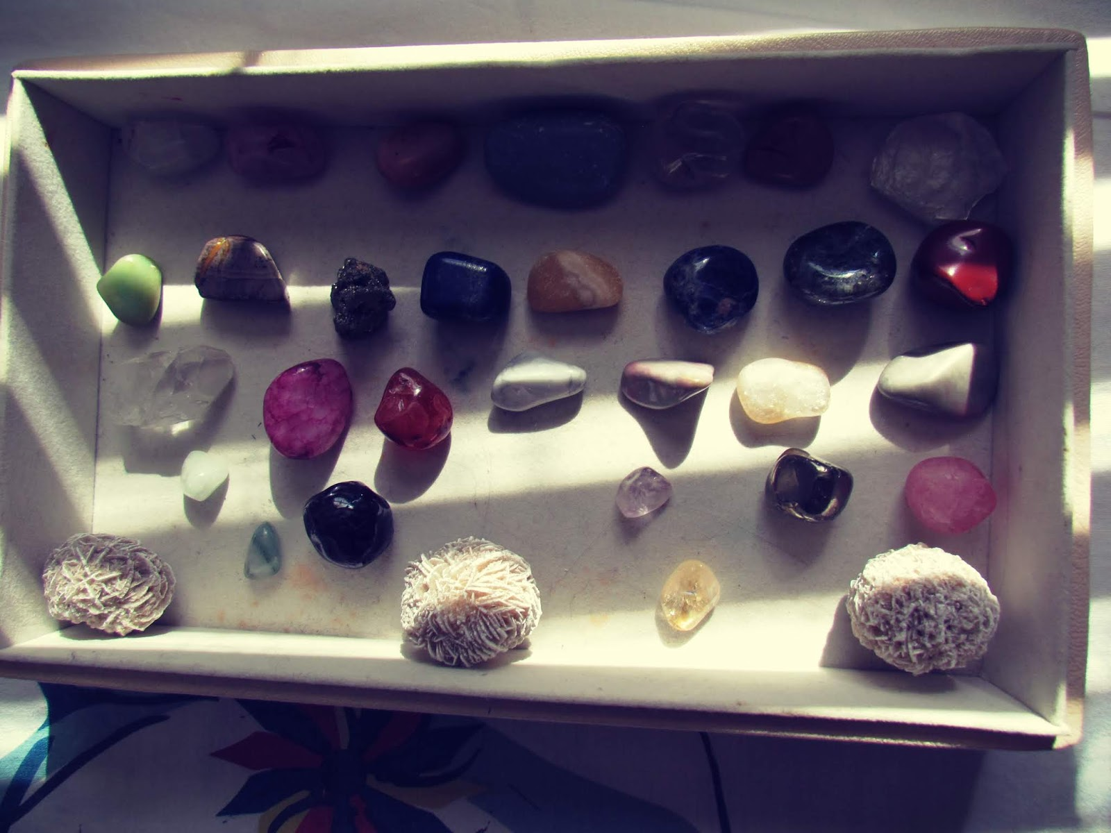 Crystal Assortment + Crystal Grid Display + Gemstone Artwork