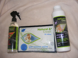 Natural and Clean, cleaning products
