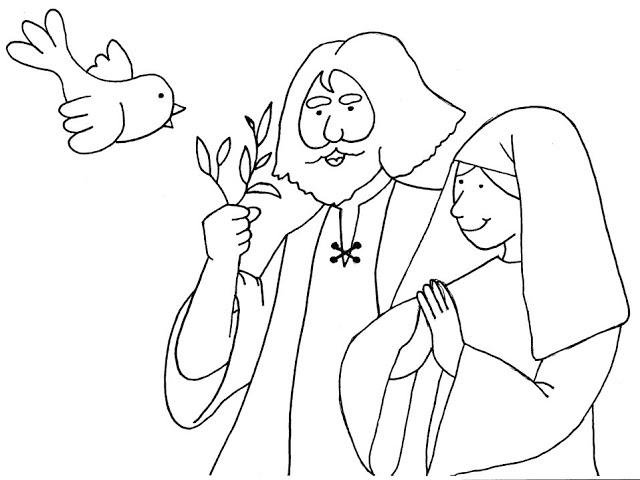 Arca De Nóe Para Colorir: Cantinho Do Evangelismo Infantil: A ARCA DE NOÉ