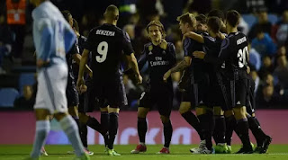 Real Madrid Bantai Celta Vigo updetails.com