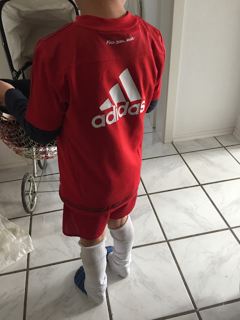 Fußball Trainings Outfit
