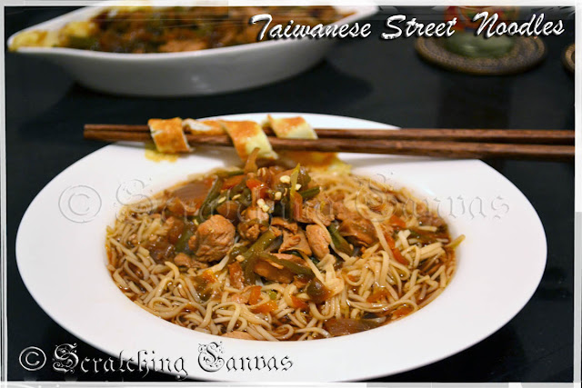 Taiwanese Soupy Noodles