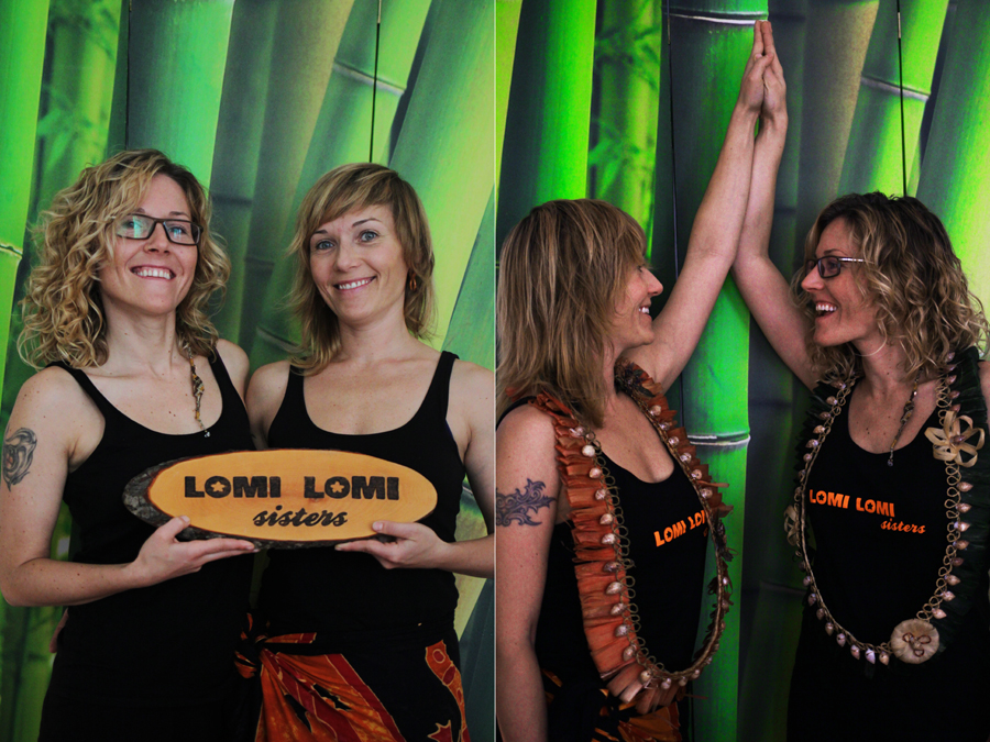 people fotografie lomi lomi sisters