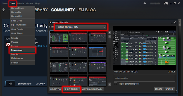 Football Manager Screenshot via Steam