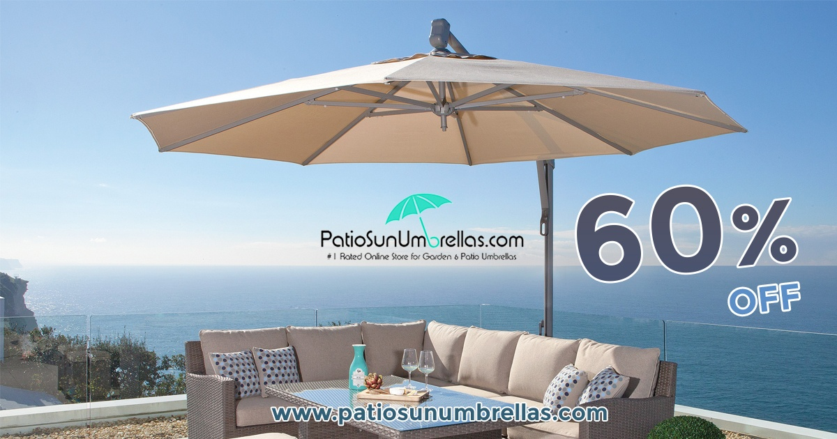 The Large Patio Umbrellas Are Now Widely Used By People For Their Outdoor  Shading Needs. These Umbrellas Are Of Great Use, However, They Need To Be  Selected ...