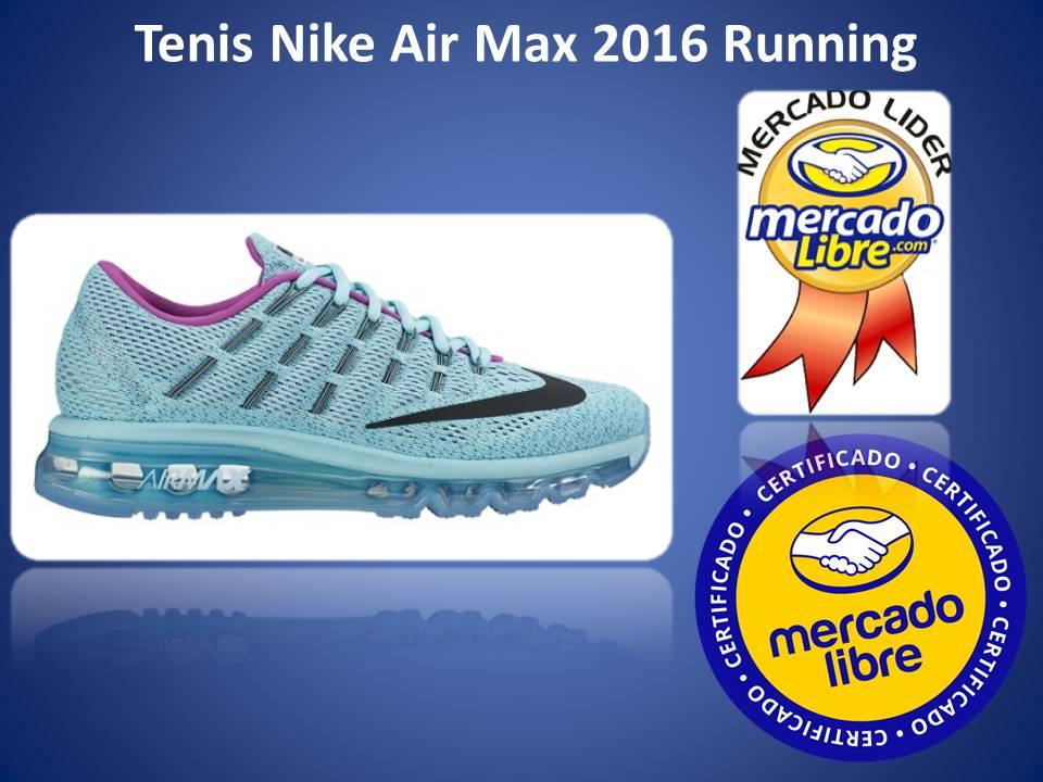 Tenis Nike Air Max 2016 Blue 100% Nuevos Originales