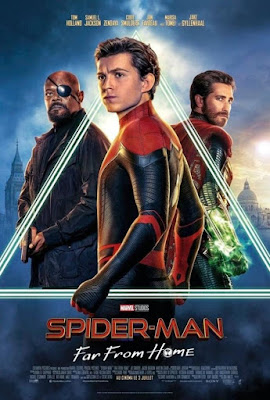 Spider-Man Far from Home 2019 Dual Audio HC HDRip 480p 400Mb