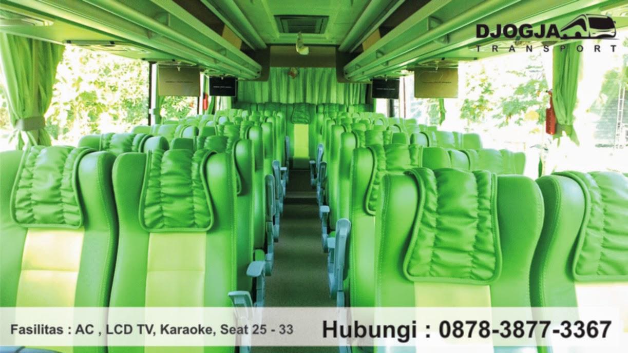 interior bus mikro di Jogja