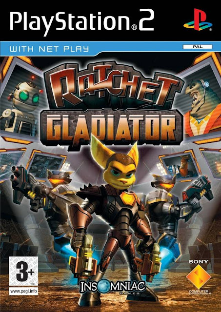 Ratchet Gladiator ps2 iso rom download