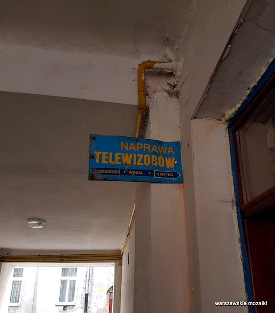 szyld tabliczka naprawa telewizorów