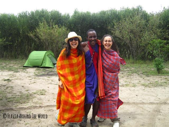 De Masais en Masai Mara