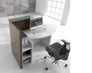Colour up your office  Kleine Empfangstheke fr Friseursalon oder Kosmetikstudio