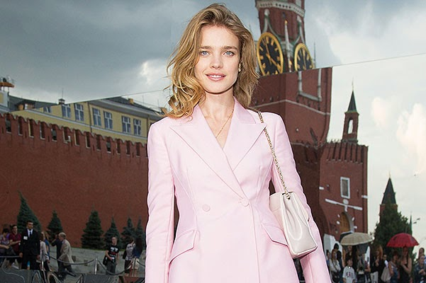 Natalia Vodianova is waiting for a fourth child