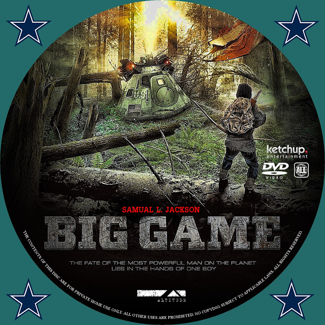 Big Game DVD Label