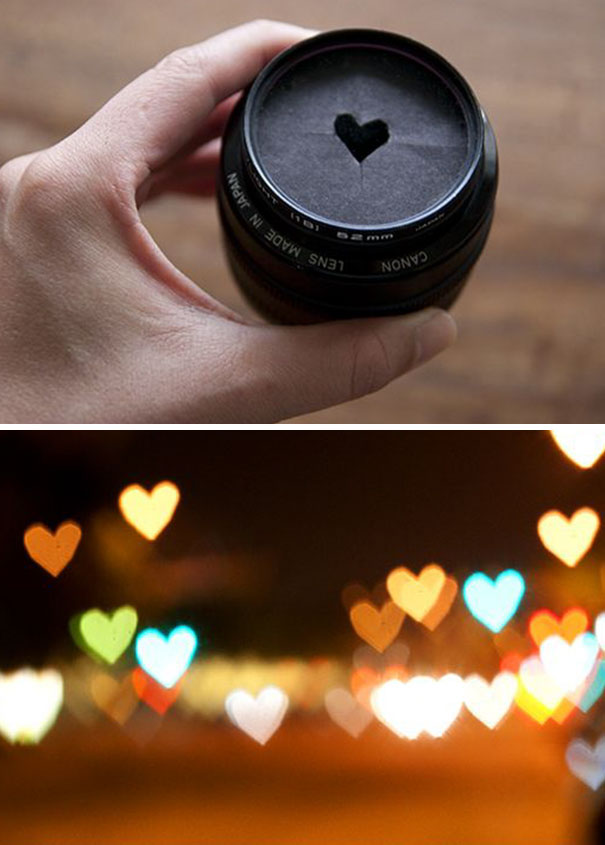 15+ Pics That Show Photography Is The Biggest Lie Ever - Heart-shaped Photo