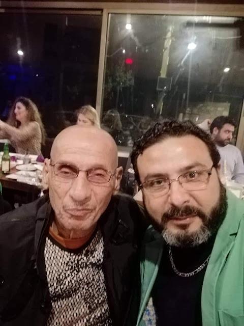 تكريم أهل الفن في مطعم ديسيوس بحمدون لبنان
