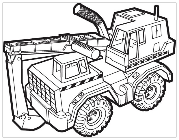 Malvorlagen Zum Ausdrucken Baufahrzeuge My Blog