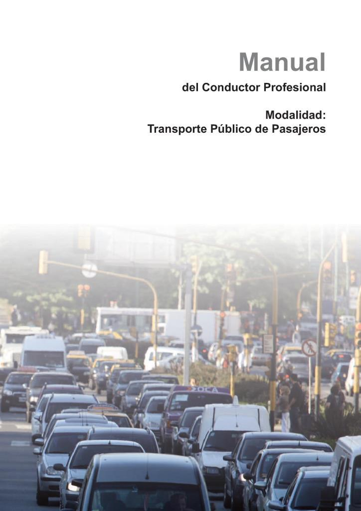 Manual del conductor profesional