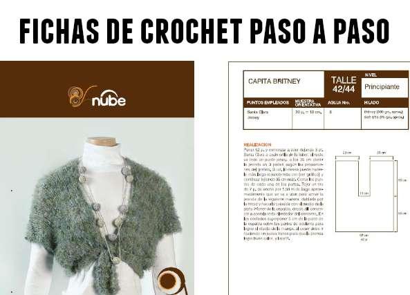 44 fichas crochet, gráficos para tejer, patrones para crochet