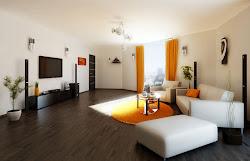 room living paint interior orange modern rooms designs decor contemporary tv effect amazing sitting decorating idea decoration colour wall designing