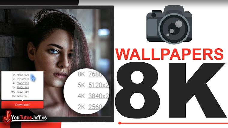 Descargar Wallpapers 4K y 8K - Excelente Pagina de Wallpapers