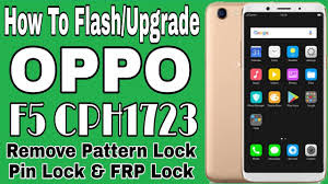 Oppo F5 CPH1723 Flash File (Stock Firmware) Free Download