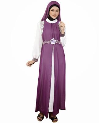 Model Baju Gamis Muslim Artis Modern