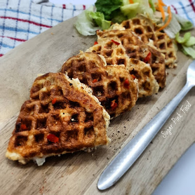 Waffle Iron Chilli Cheese Omelettes recipe slimming world