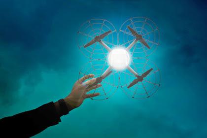Inilah Drone yang digunakan Acara Countdown Asian Games 2018