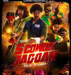 5 Cowok Jagoan: Rise of the Zombies (2017)