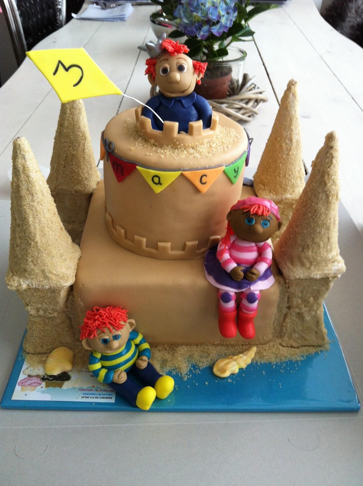 zandkasteel taart maken Taart bij Essy's Cosy Cakes: Het Zandkasteel taart zandkasteel taart maken
