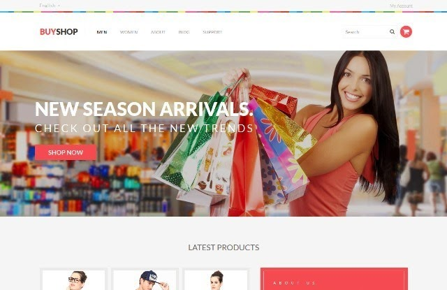 Buy Shop - eCommerce Bootstrap Template