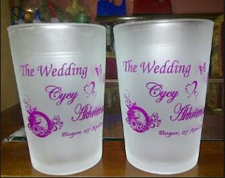 Jual Souvenir Pernikahan Murah di Purwokerto Banyumas