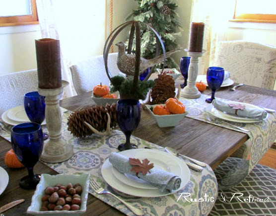 Modern Thanksgiving Tablescape Ideas