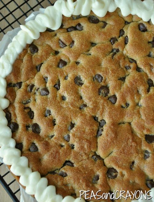 Ghirardelli Chocolate Chip Cookie Cake