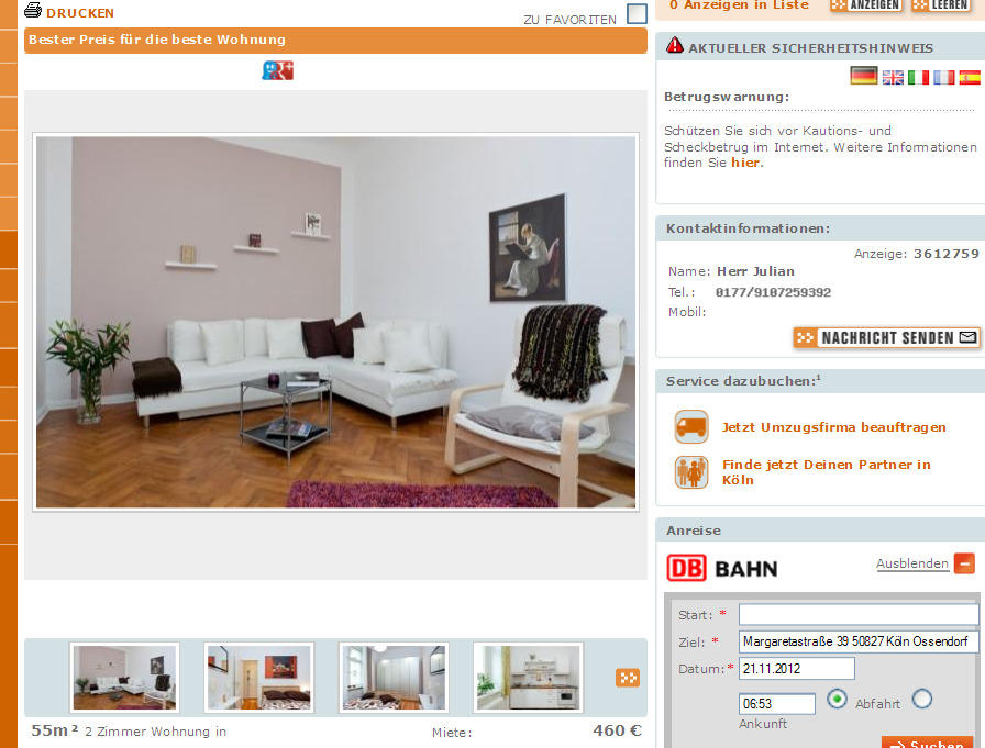 ackerstra e 68 68 13355 berlin gegen wohnungsbetrug against rental scammers. Black Bedroom Furniture Sets. Home Design Ideas