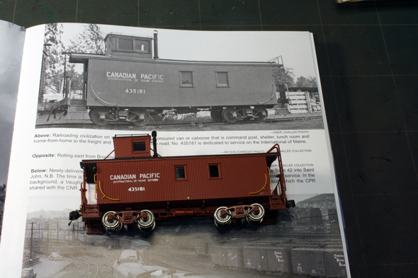 White River Division: CPR International of Maine Caboose