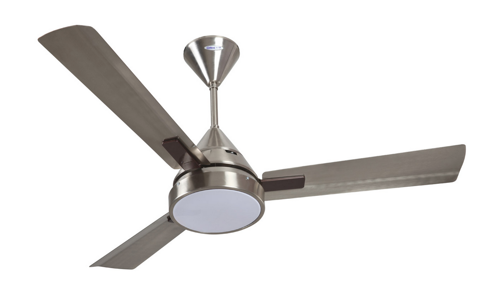 Orient 48 Spectra Led Celing Fan Peuter Finish With Led Light