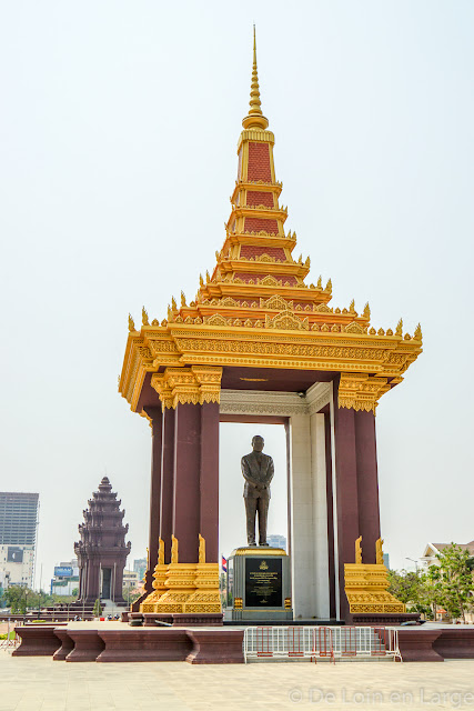 Statut de Sihanouk - Phnom Penh - Cambodge