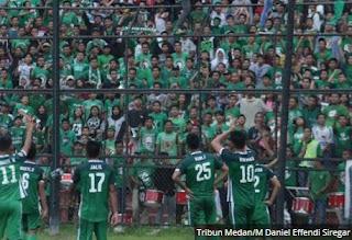 Suporter PSMS Medan Mulai Merapat ke Bandung