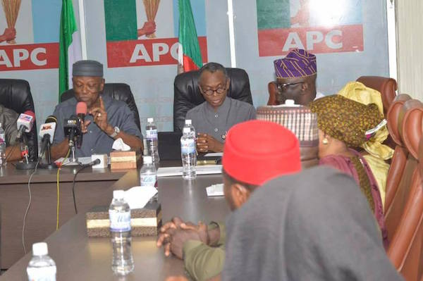 Image result for APC inaugurates 5-man State Congress committees