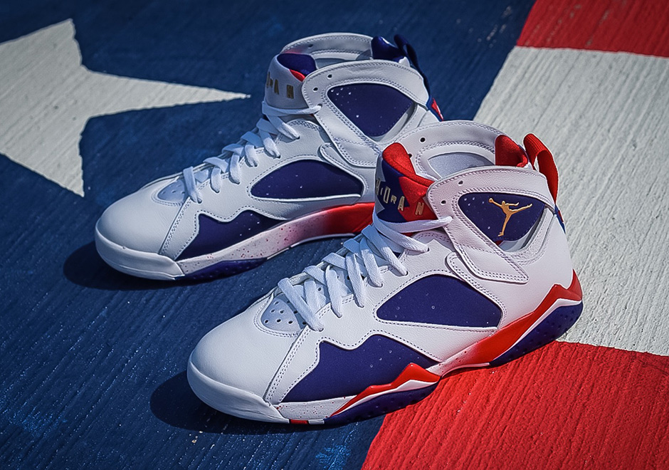 "c35589de7779d8 ... into international competition with the legendary USA Dream Team at the  1992 Barcelona Olympics. Instead of releasing the iconic ""Olympic"" Air  Jordan 7 ..."