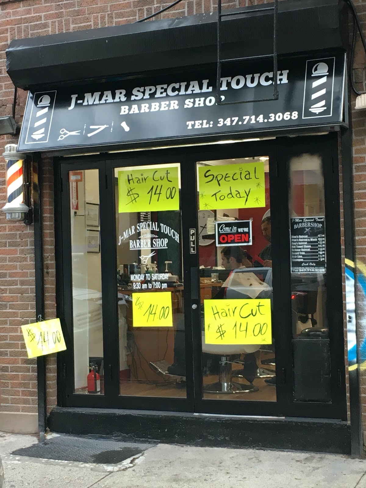 ... months, J-Mar Special Touch barber shop closes on East 6th Street