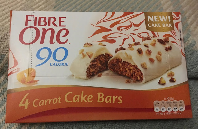 Fibre One Carrot Cake Bars