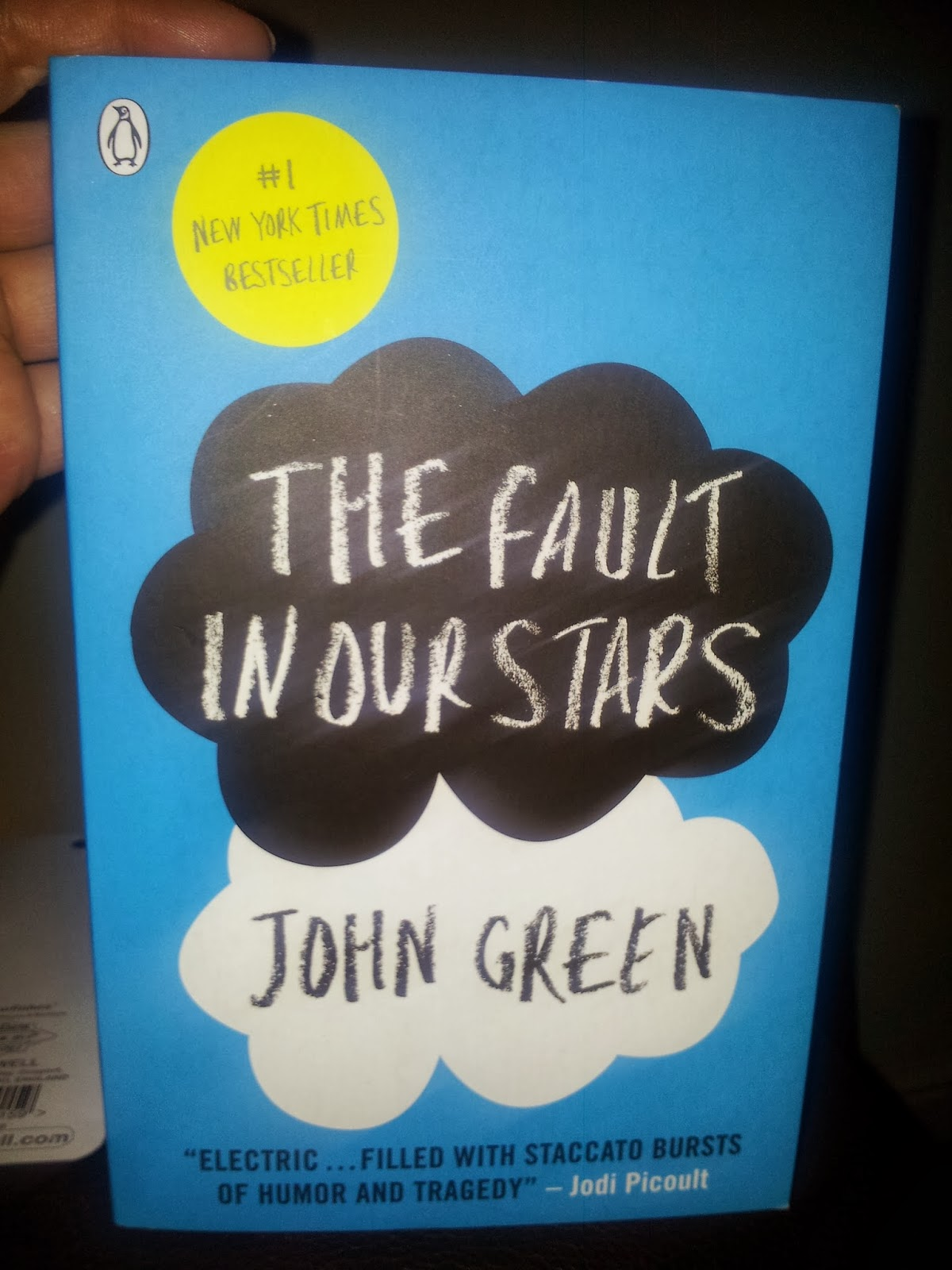 Miss Bookworm Reviews: Book Review: The Fault In Our Stars ...