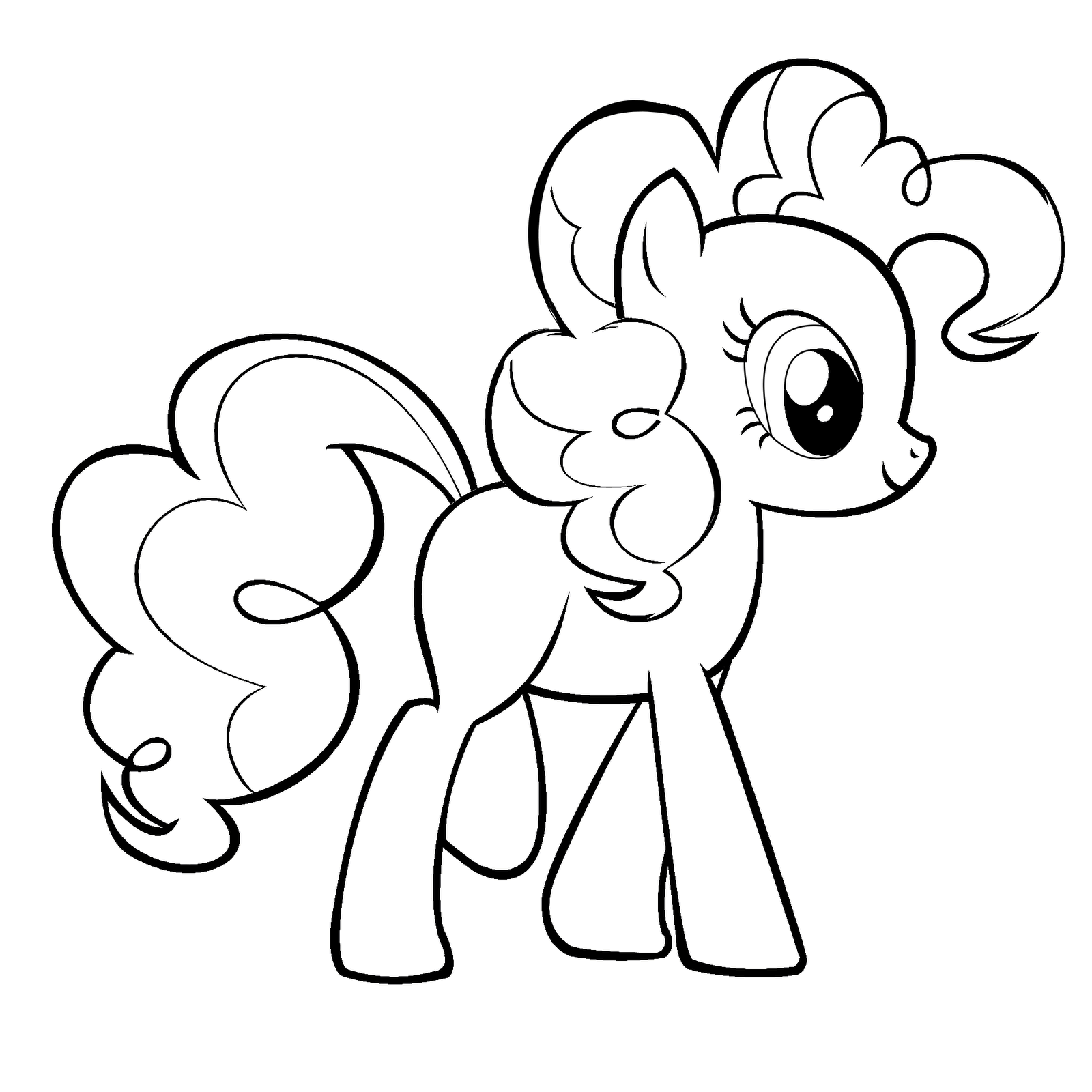New Cute My Little Pony Coloring Pages | New Coloring Pages